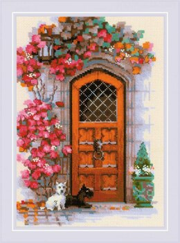 Riolis Scottish Door Cross Stitch Kit - 21cm x 30cm