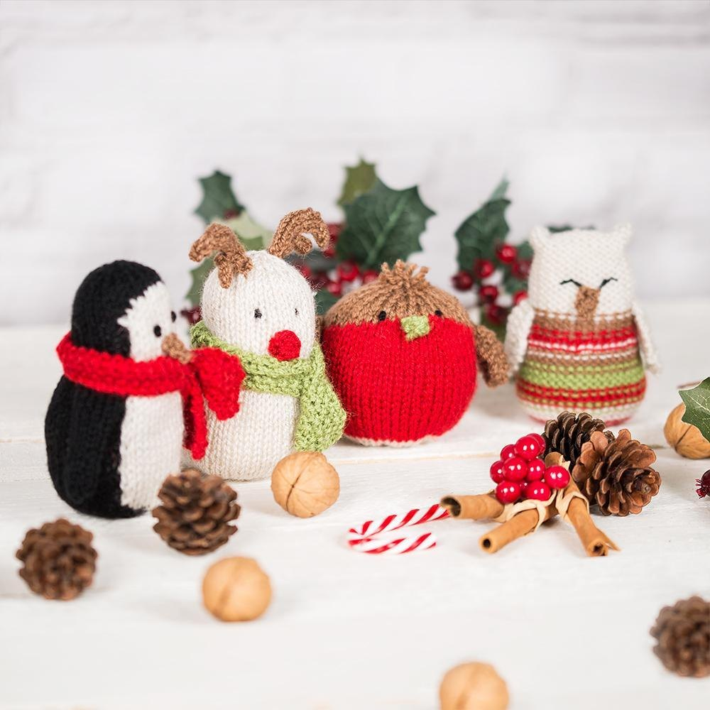 Festive Creatures Knitting pattern by JULIE RICHARDS