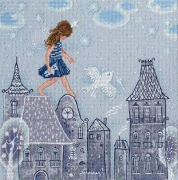RTO Fairy Tales Life on the Roof Cross Stitch Kit