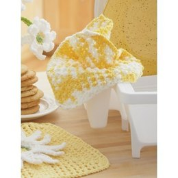 Daisy - Plain Dishcloth in Lily Sugar 'n Cream Ombre