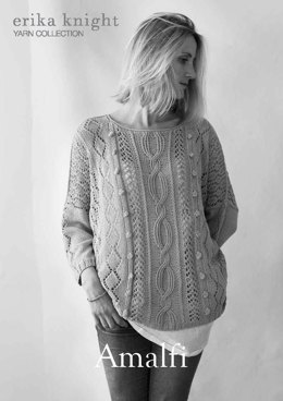 Amalfi Sweater in Erika Knight Studio Linen