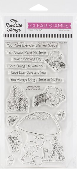 "My Favorite Things Stacey Yacula Stamps 4""X8"" - Always Bring A Smile"