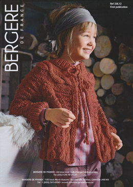 Jacket in Bergere de France Duvetine - 33612