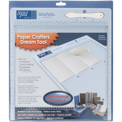 "Scor-Pal Measuring & Scoring Board 12""X12"" - Imperial"