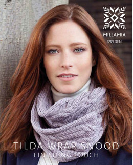 Tilda Wrap Snood in MillaMia Naturally Soft Aran