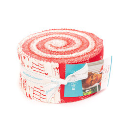 "Riley Blake From The Heart 2.5"" Strip Roll - RP-10050-40 - Multi"