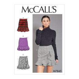 McCall's Misses' Skirts M7845 - Sewing Pattern