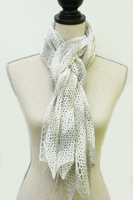 Chevron Lace Scarf