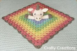 Unicorn Lovey (Security Blanket)