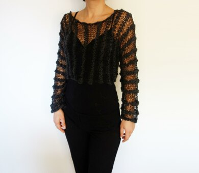 Black Magic Cropped Top