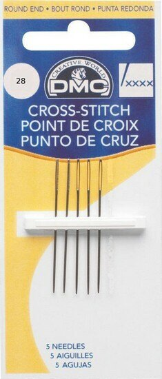 DMC Cross Stitch Needles (28)