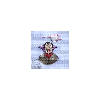 Mouseloft Stitchlets - Vampire Cross Stitch Kit