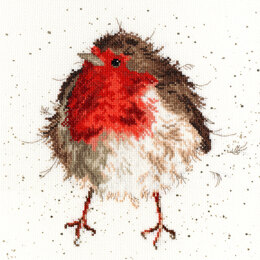 Bothy Threads Jolly Robin Tapestry Kit - 38 x 38cm
