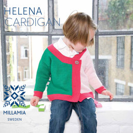 Helena Cardigan in MillaMia Naturally Soft Merino - Downloadable PDF
