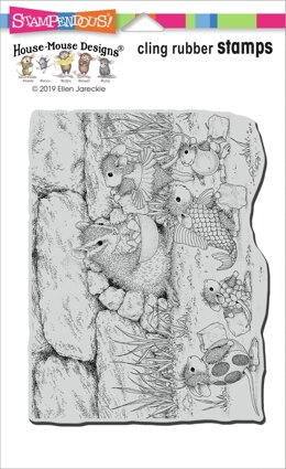 Stampendous House Mouse Cling Stamp - Chipmunk Treats