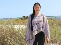 Window Pane Poncho PDF14-151