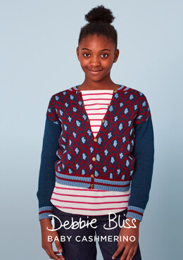 Frank Jacket in Debbie Bliss Baby Cashmerino - DB307 - Downloadable PDF