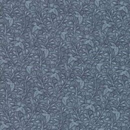 Moda Fabrics 3 Sisters Snowberry Sky Floral Aviary Light Blue