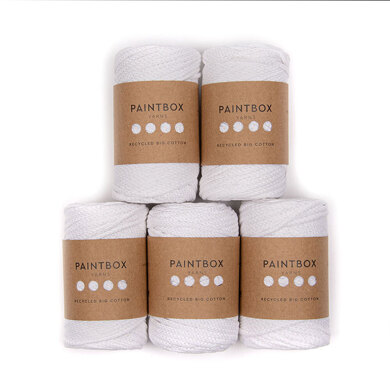 Paintbox Yarns Recycled Big Cotton 5 Ball Value Pack