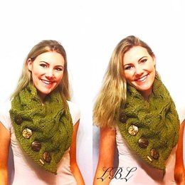 Waves of Cables Button Cowl