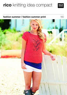 Top and Vest in Rico Fashion Summer and Fashion Summer Print - 160
