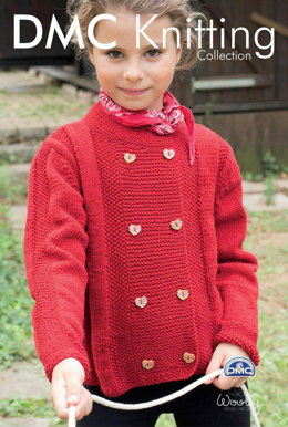 Girls Cardigan in DMC Woolly - 15292L/2 - Leaflet