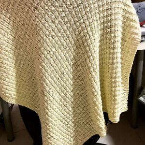 Simple Waffle Baby Blanket Knitting pattern by Daisy Gray ...