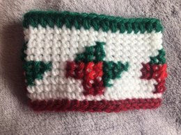 Holly Jolly Coffee Cup Cozy