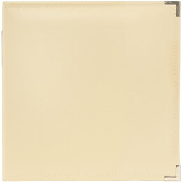 """We R Memory Keepers We R Classic Leather D-Ring Album 8.5""""X11"""" - Vanilla"""