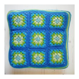 Pillow :: Granny Square Cushion Cover