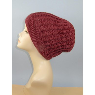 Moss Stitch Cuff Fishermans Slouch Hat