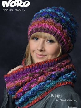 Hat and Loop in Noro Obi - NSL001 - Leaflet