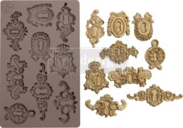 "Prima Marketing Re-Design Mould 5""X8""X8mm - Grandeur Keyholes"