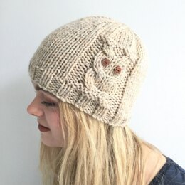 Owl Beanie toddler to adult