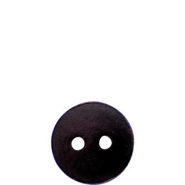 Brown Leather 23mm 2-Hole Button