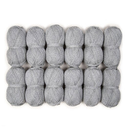 Rowan Throw KAL by Martin Storey - Rowan Pure Wool Worsted 12 Ball Value Pack