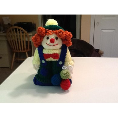 Amigurumi Ruffles the clown