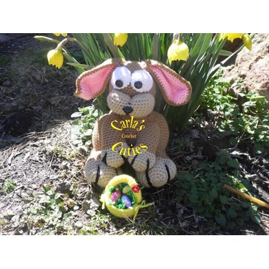 Easter Bunny a Crochet Pattern