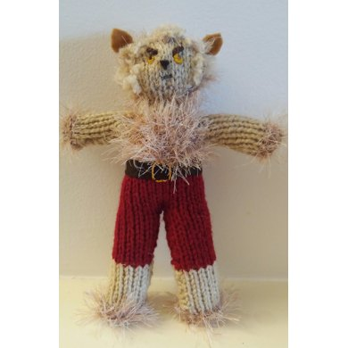 Werewolf Knitted Doll Pattern Perfect For Halloween Or Christmas