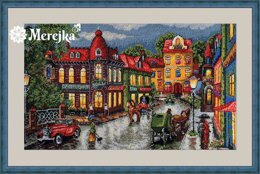 Merejka The Old City Cross Stitch Kit - K-59