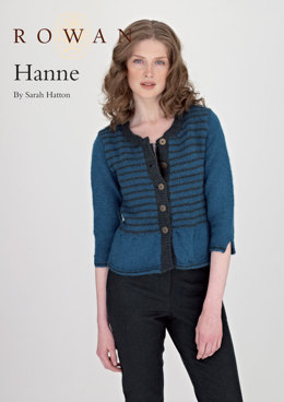 Hanne in Rowan Creative Focus Worsted