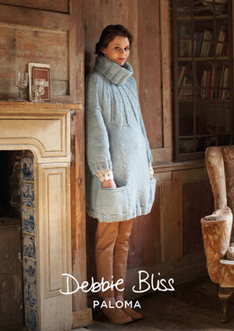 Danielle Sweater in Debbie Bliss Paloma - DBS015 - Downloadable PDF