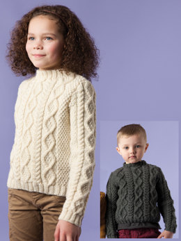 Riley Sweater in Rowan Pure Wool Worsted