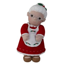 Mrs Claus (Knit a Teddy)