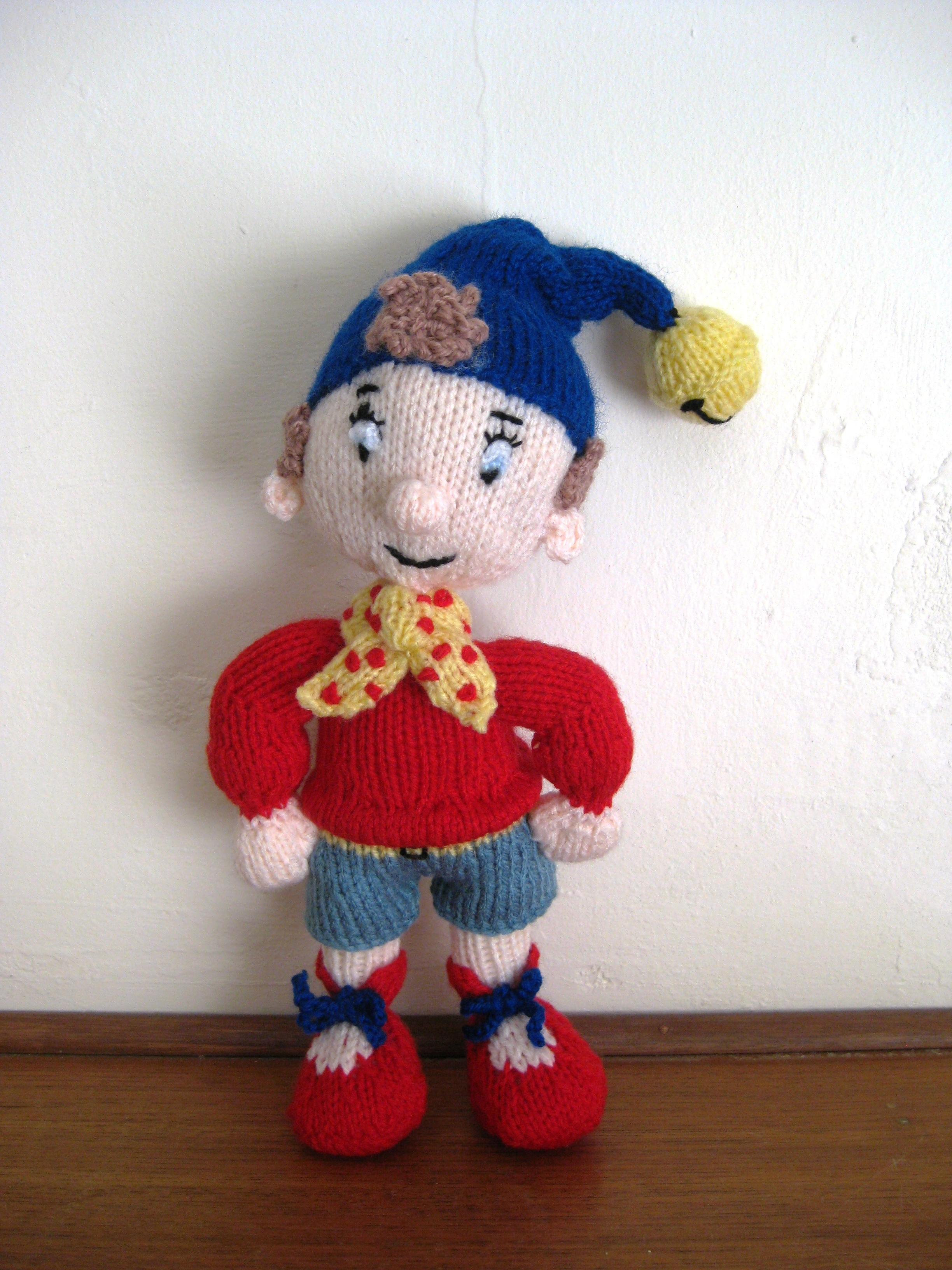 Noddy Doll Knitting Pattern : Noddy and Big Ears knitting project by Lynne H LoveKnitting