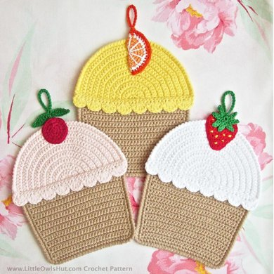 042 Cupcake Decor or Potholder Ravelry