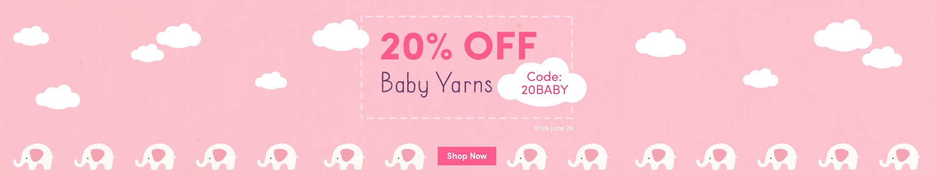 LC Marketing NA - 20% off Baby Yarns