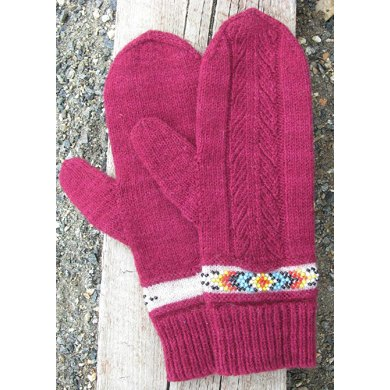 Indian Feather Mitts & Cuffs