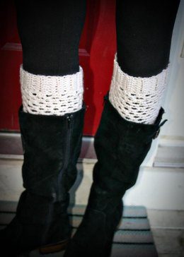 Fishnet Boot Cuffs