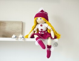 Beads jointed doll Caroline